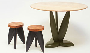 Tulip Table and Stools